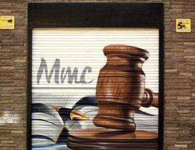 graffiti cierre madrid