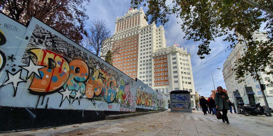 ruta arte urbano Madrid