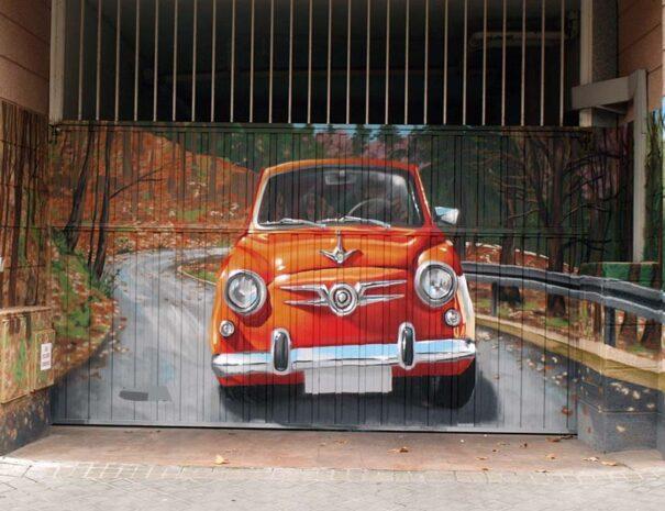 graffiti profesional garaje