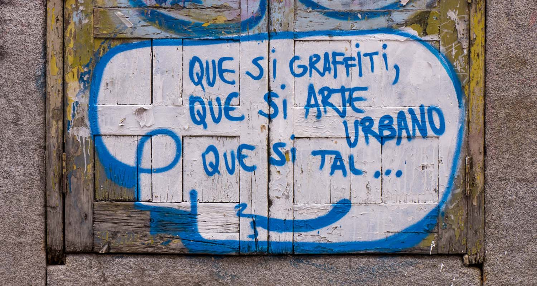 arte urbano y graffitis Malasaña