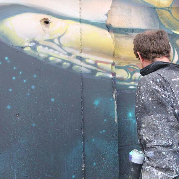 grafiteros a domicilio Madrid ciudad