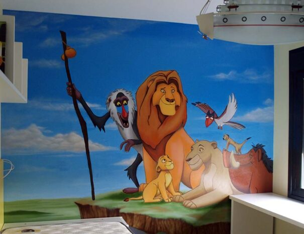 Personajes infantiles del Rey León