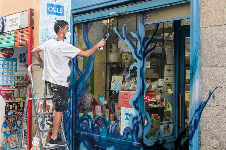 grafiteros emergentes Madrid