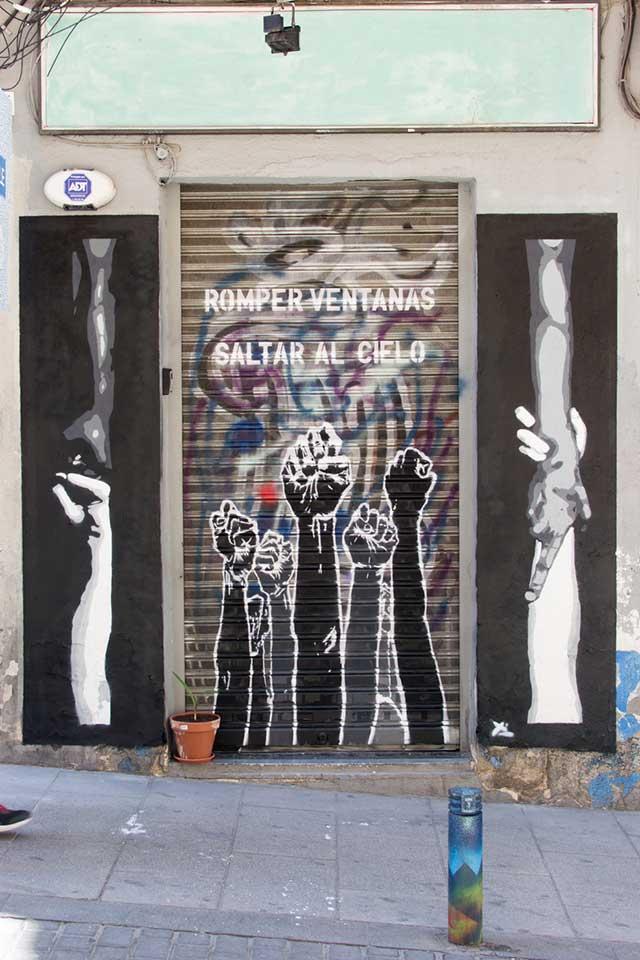 Arte urbano en Lavapies