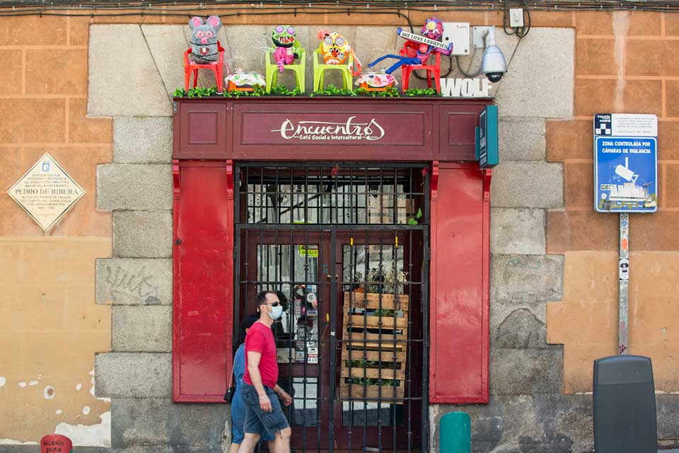 profesionales arte callejero madrid