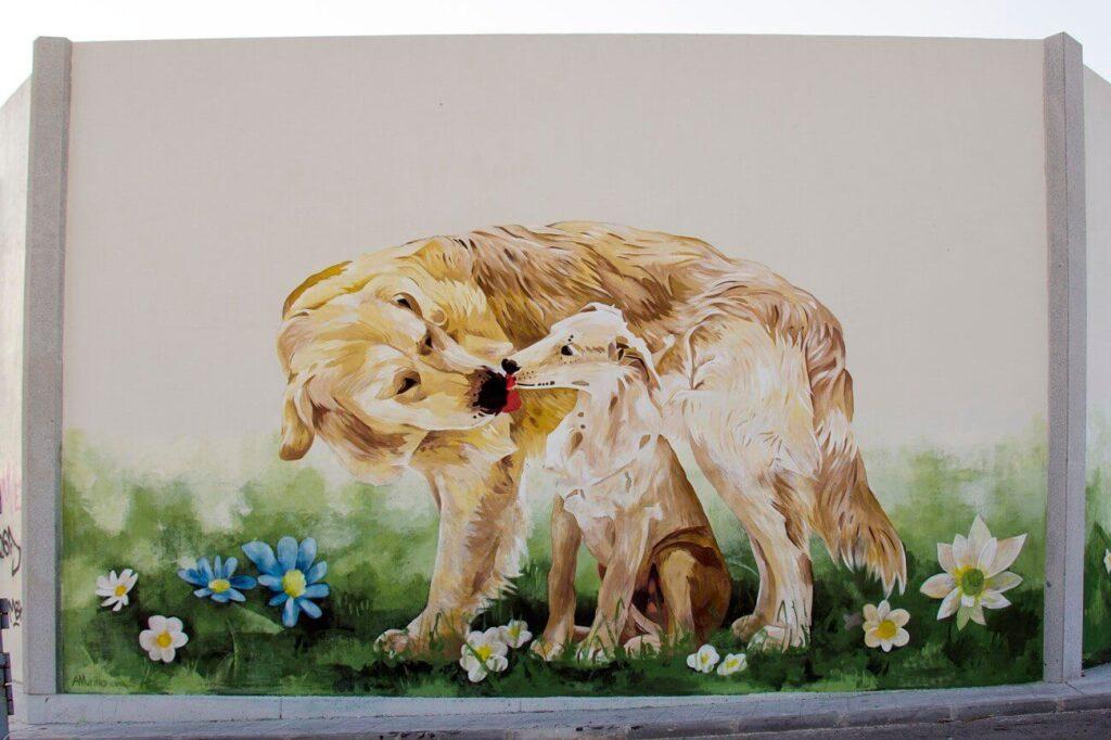 animales decorados a mano