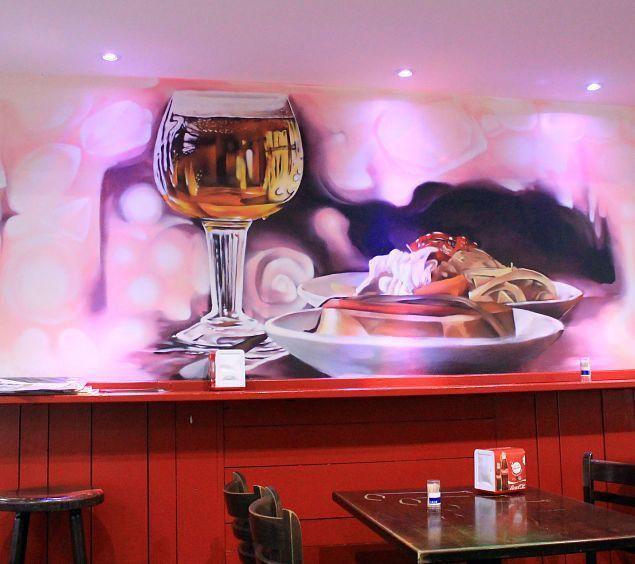 decoración de interior para bares