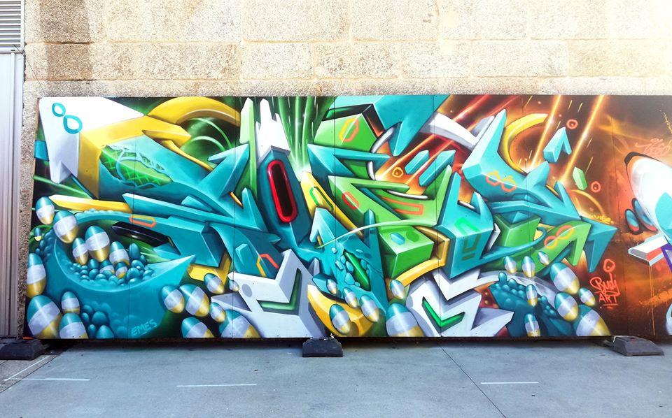 letras de graffiti en España