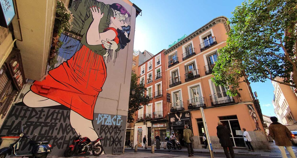 graffiti y arte callejero madrid