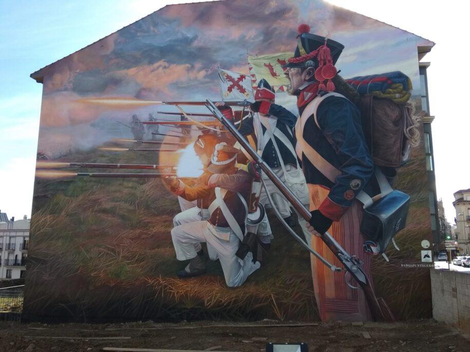 uno de los mejores artistas de arte urbano en España