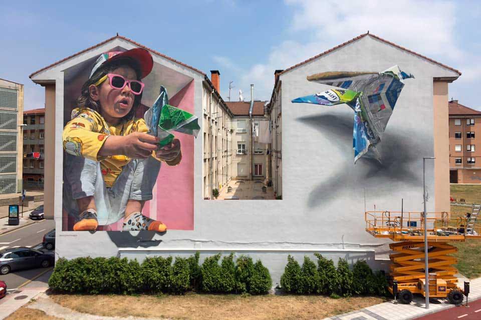 arte urbano en España por Da2