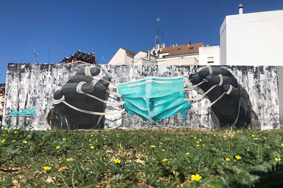 arte urbano en Huelva, España