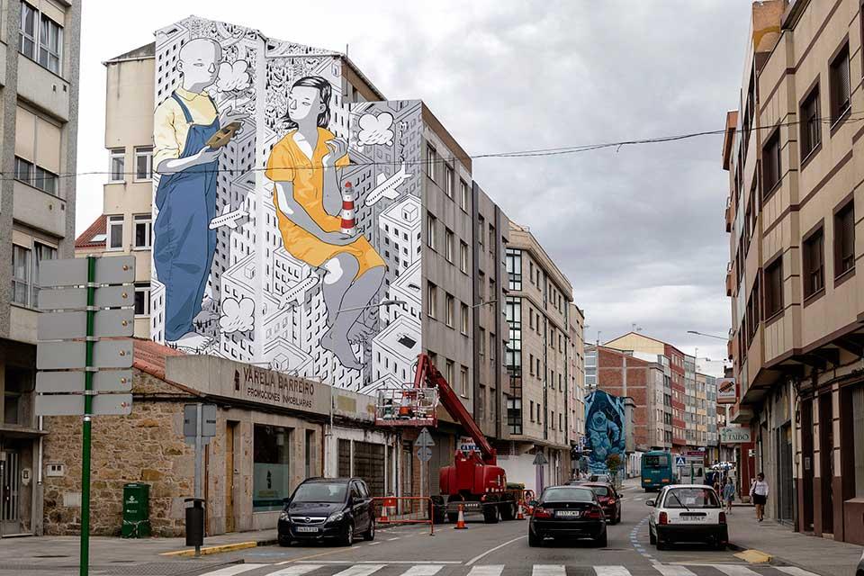 rexenera es un festival de arte urbano en españa