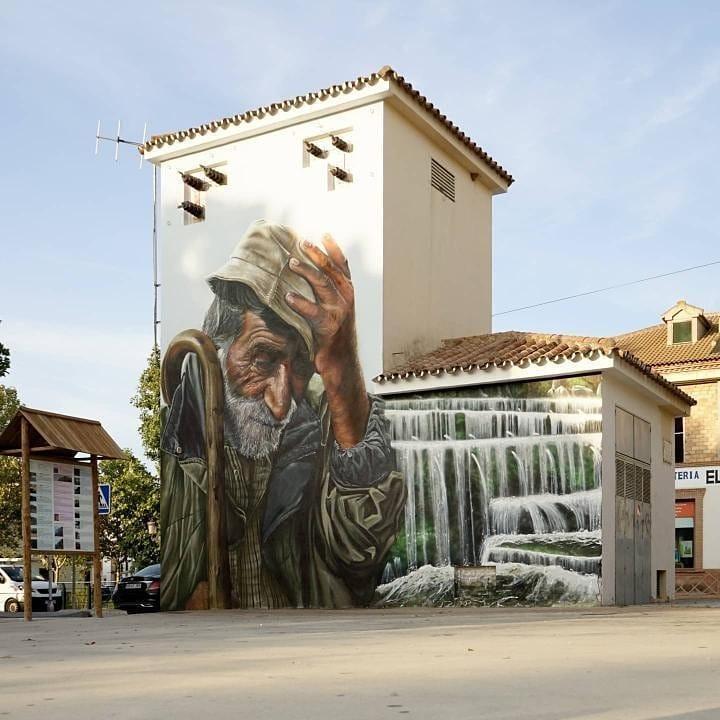 muralismo en entorno rural