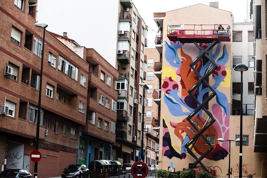 festival de street art en zaragoza