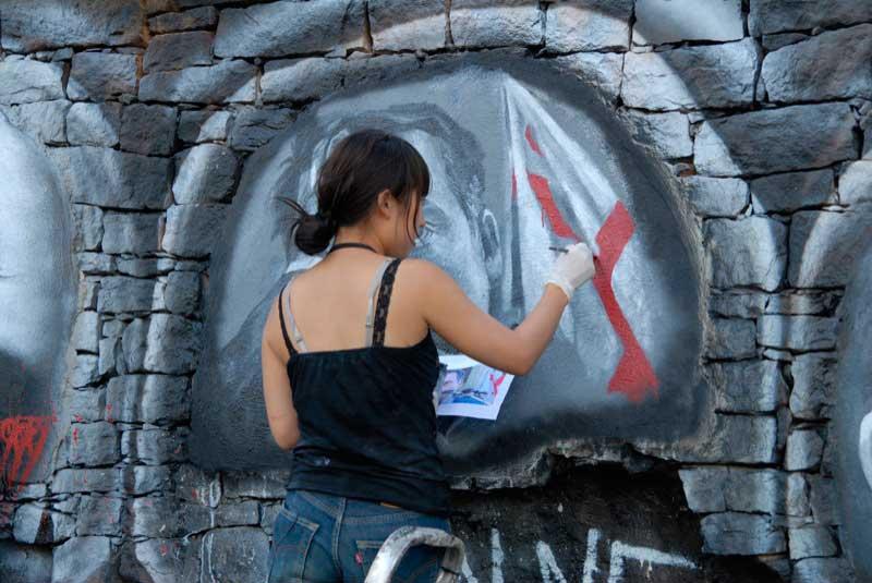 talleres de arte urbano para adolescentes
