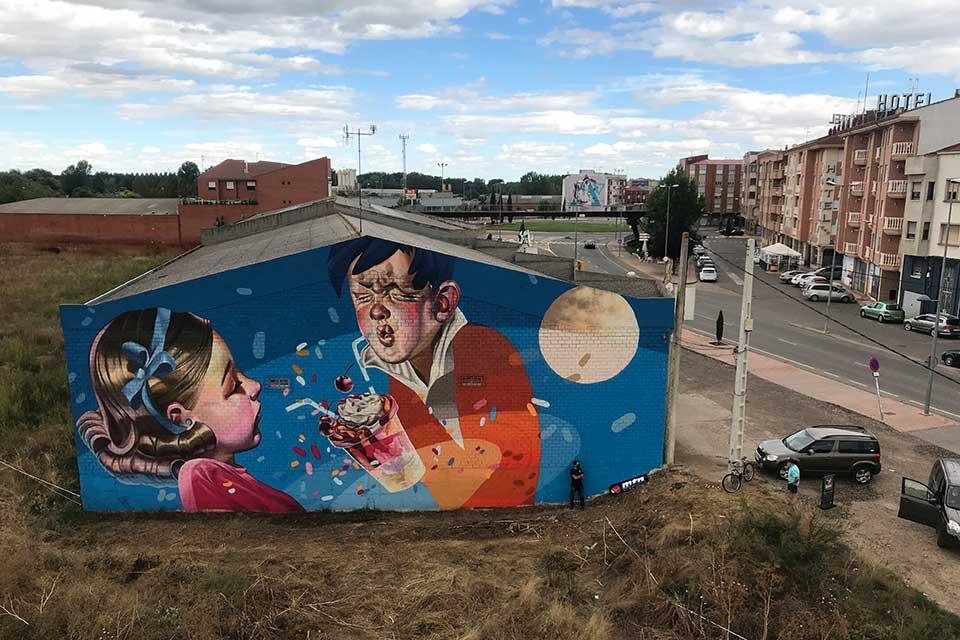 graffitis artisticos de Corte