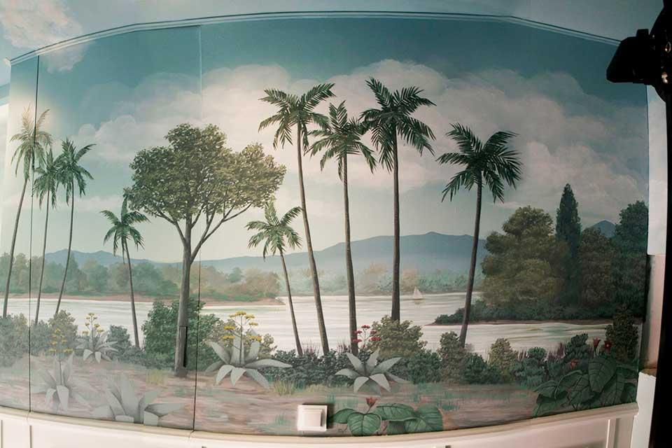 murales para interiores en Madrid