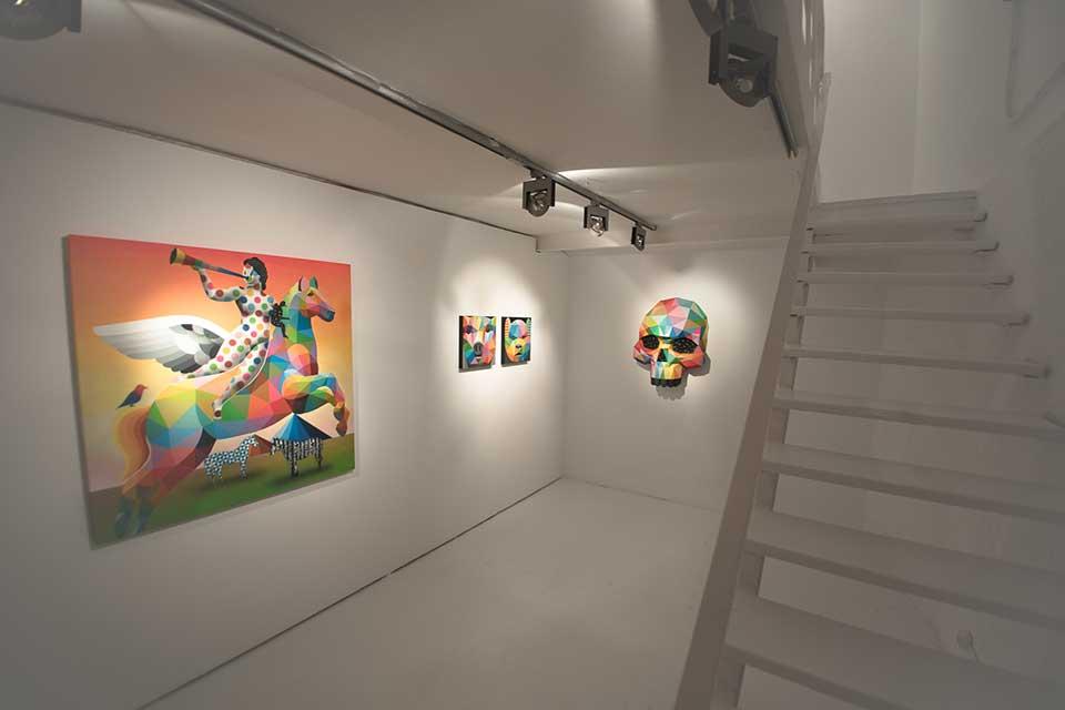 exposicion de Okuda, Madrid