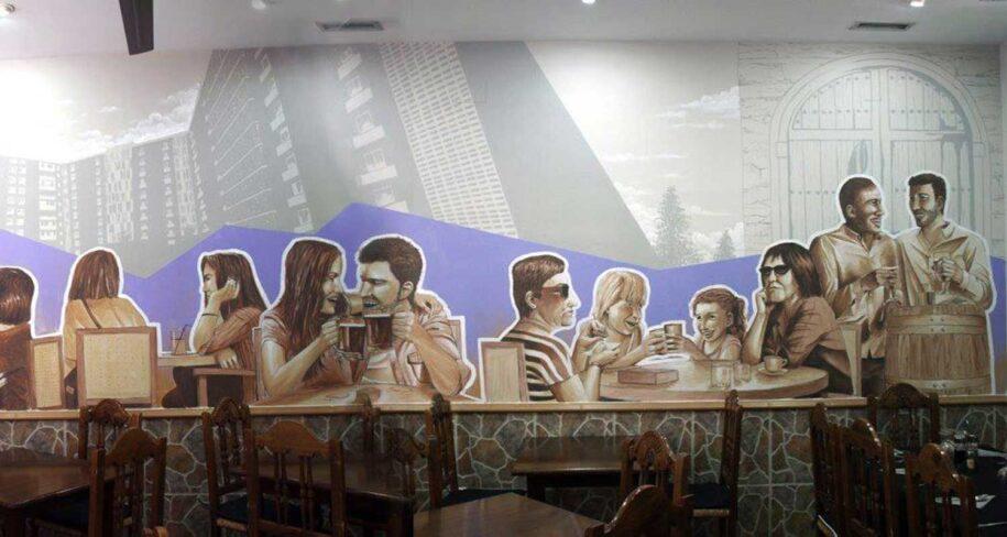murales para interiores