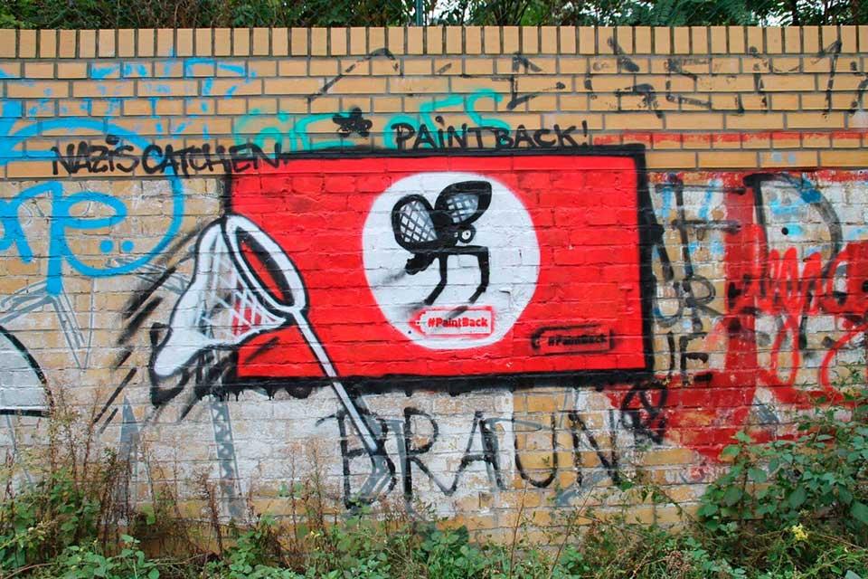 graffiti esvástica