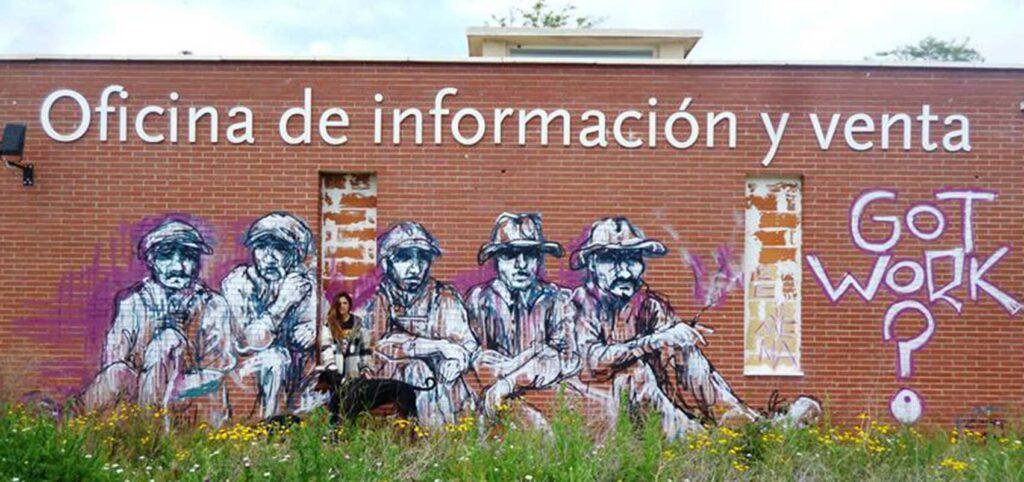 graffitis de arte urbano político creados por Ze Carrion