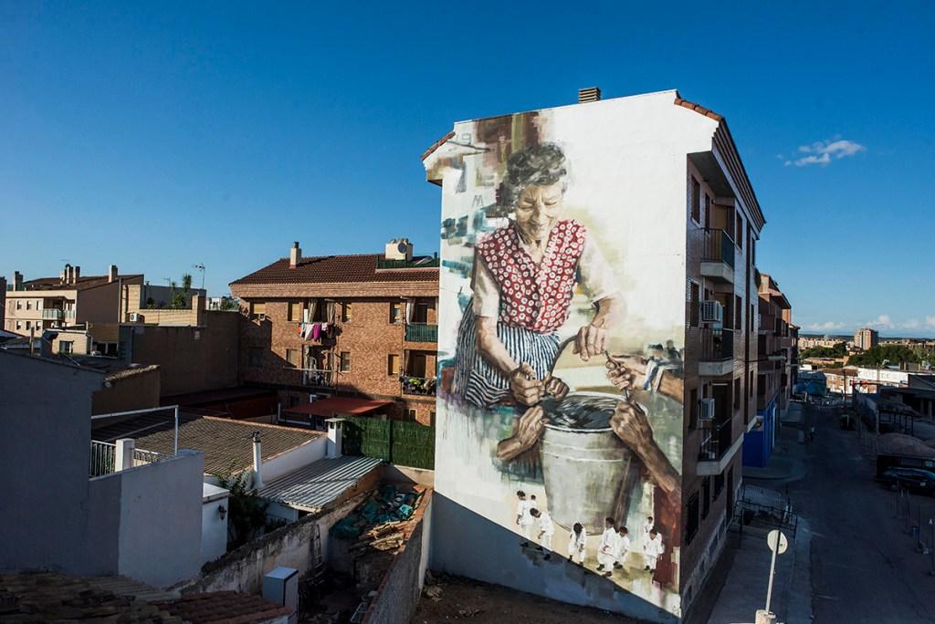 Asalto es uno de los festivales de street art en España