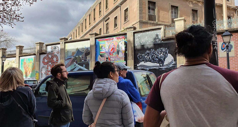 descubre los graffitis de madrid centro con cooltourspain