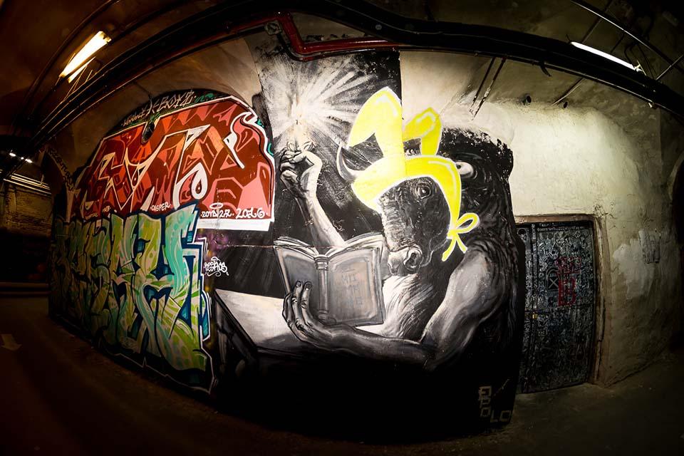 el mejor de los sitios con graffitis en madrid