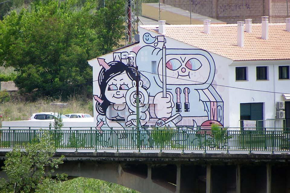 trabajos de street art en España