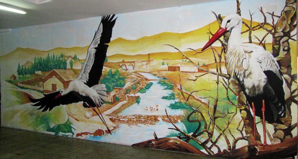 pintura decorativa interiores por encargo