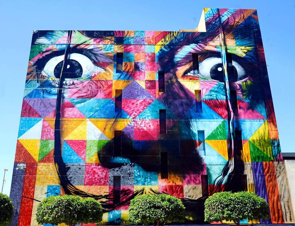 el mural de arte urbano en murcia más famoso