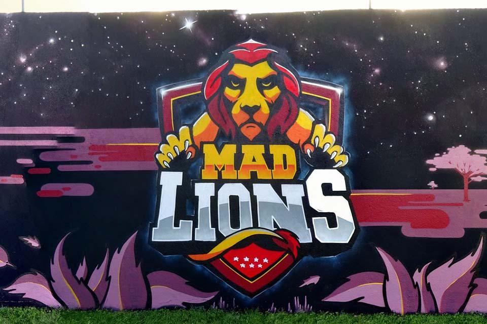 decoración para equipo de rugby