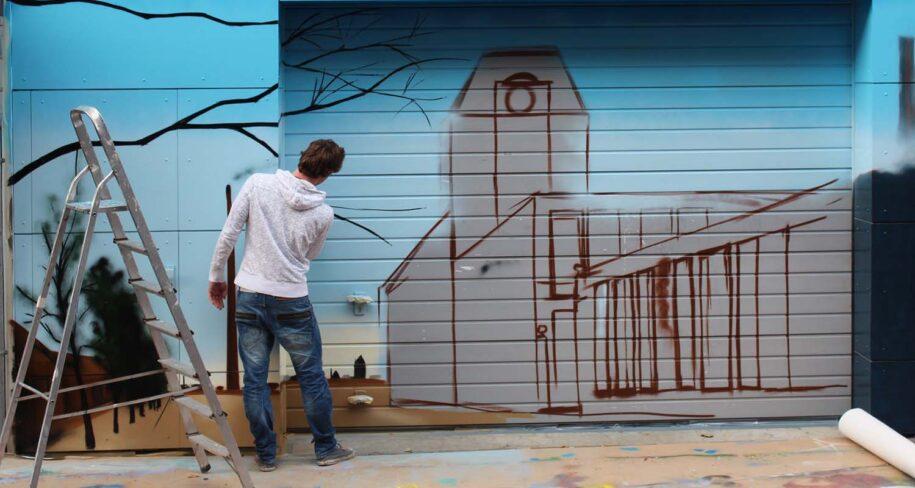 grafiteros profesionales en Madrid ciudad