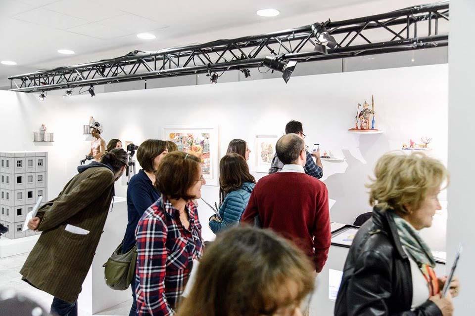 tour por exposiciones de galerias contemporaneas en madrid