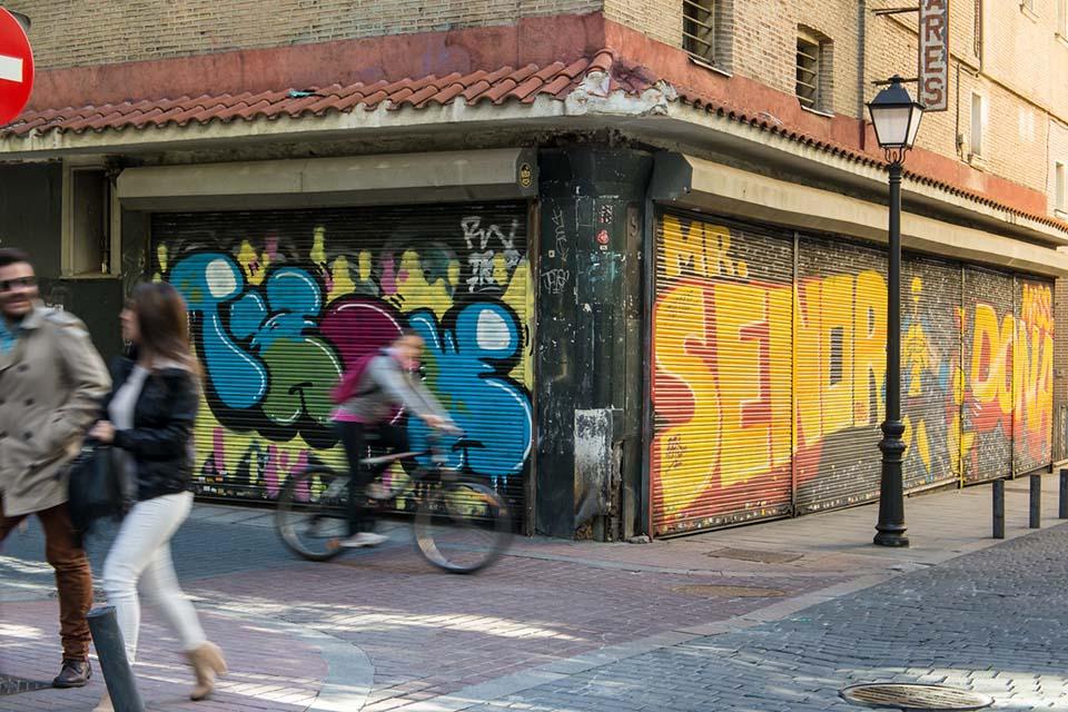 salidas escolares por el barrio de malasaña, madrid