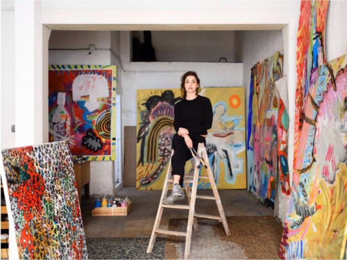tours por los talleres de los artistas del barrio
