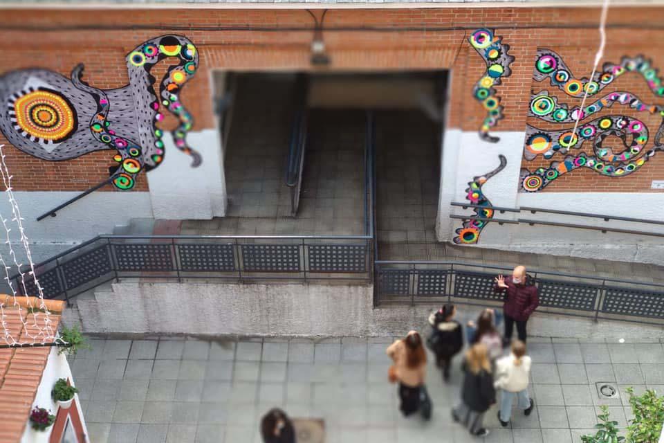explicación del festival de arte urbano en Madrid