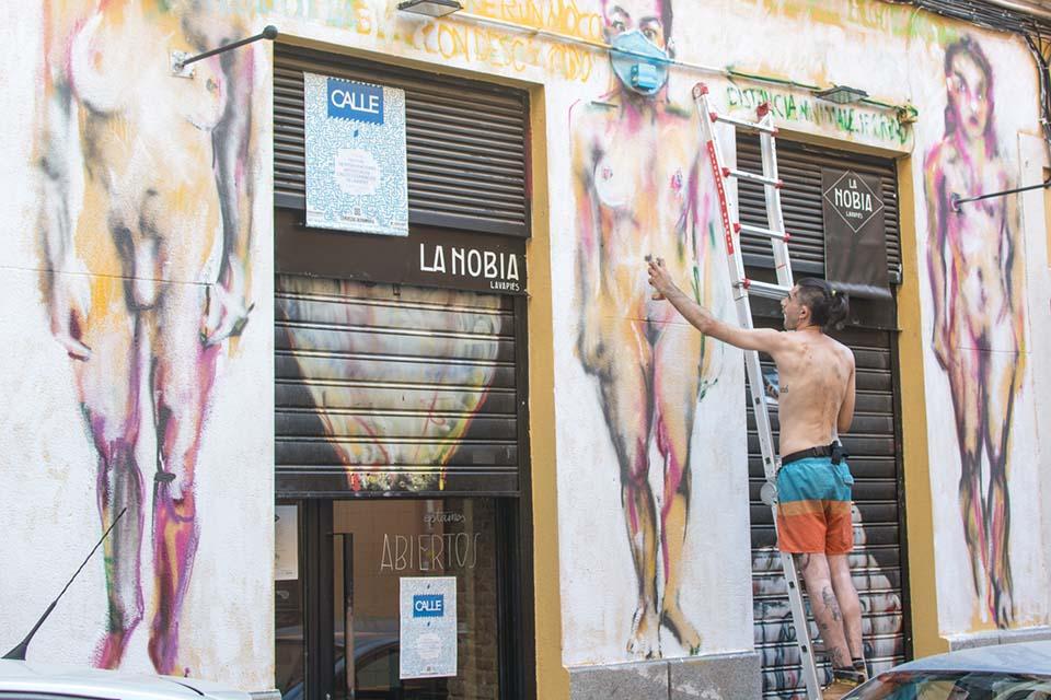 como se lleva a cabo un festival de street art en Madrid