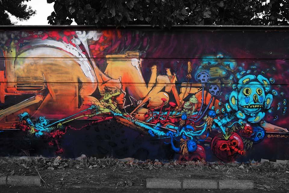 arte urbano y graffiti en granada