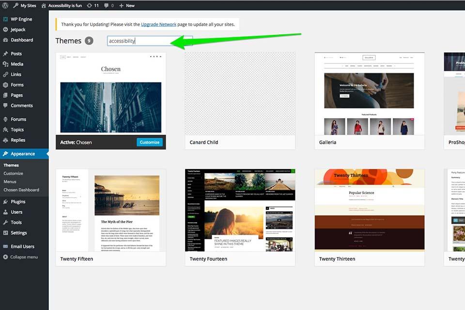 creación de página web para artistas