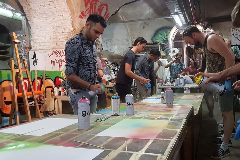 talleres de arte contemporáneo en Madrid