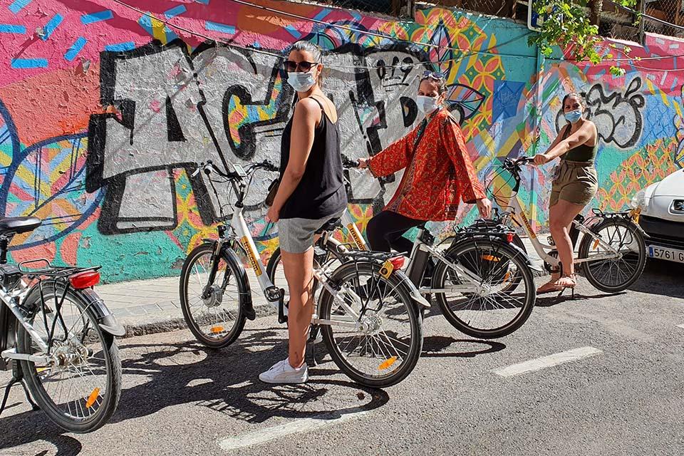 visitas guiadas para empresas que quieren conocer Madrid en bicicleta