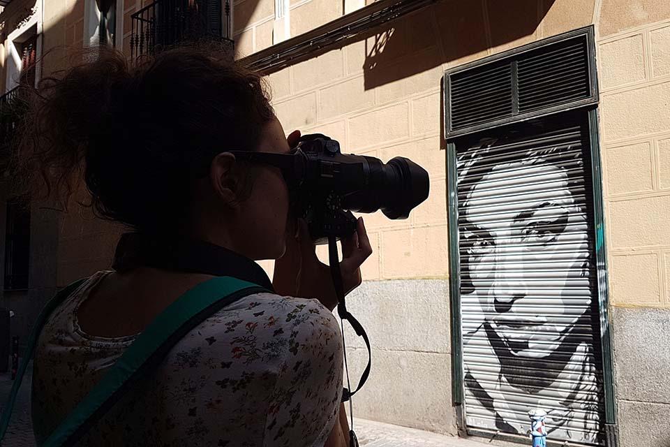 recorridos de arte urbano por Malasaña