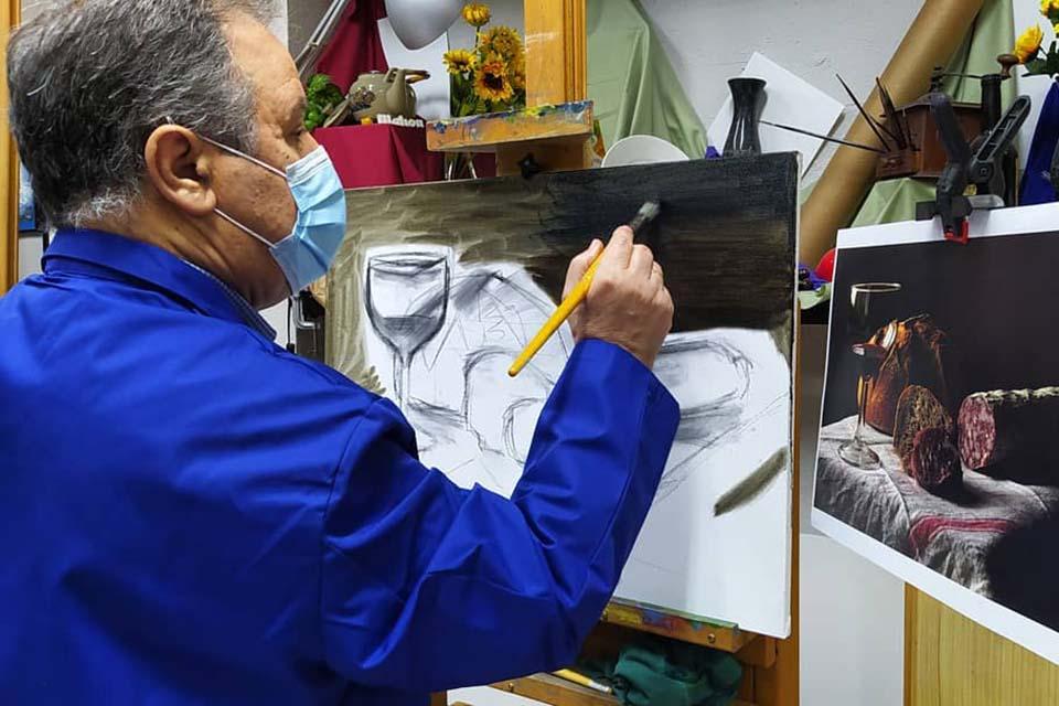taller de arte en madrid para jubilados