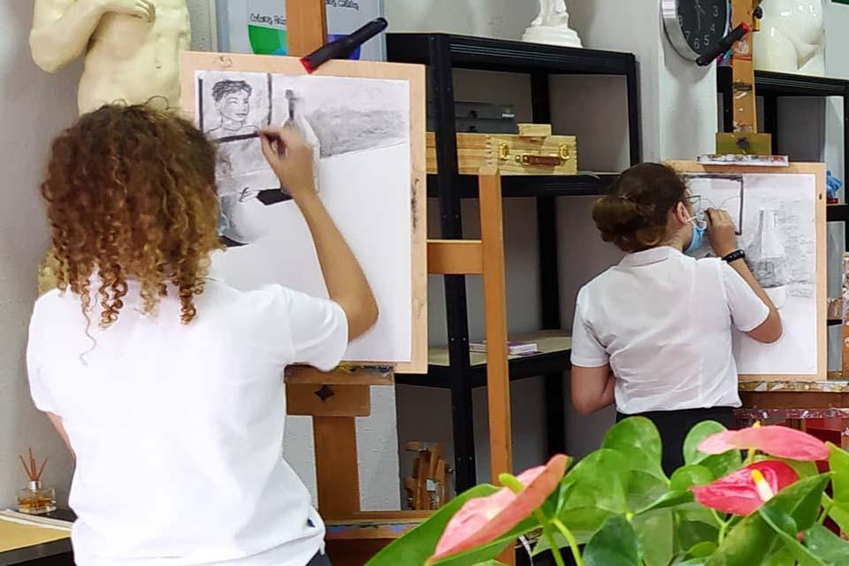 taller de arte en Madrid para niños