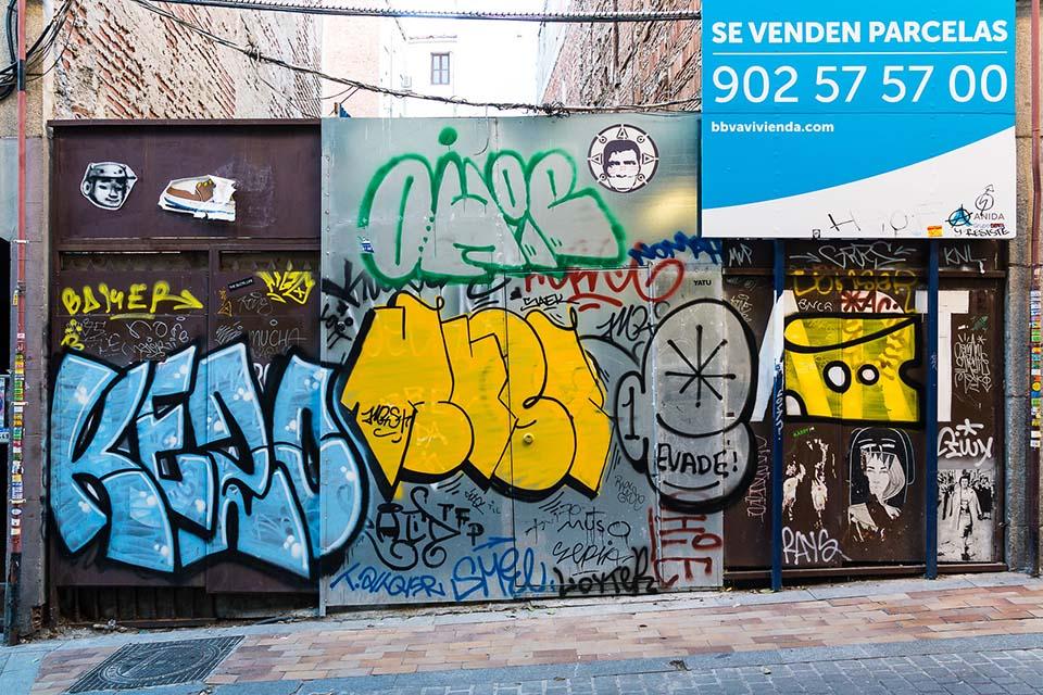 excursiones para estudiantes en madrid centradas en graffiti