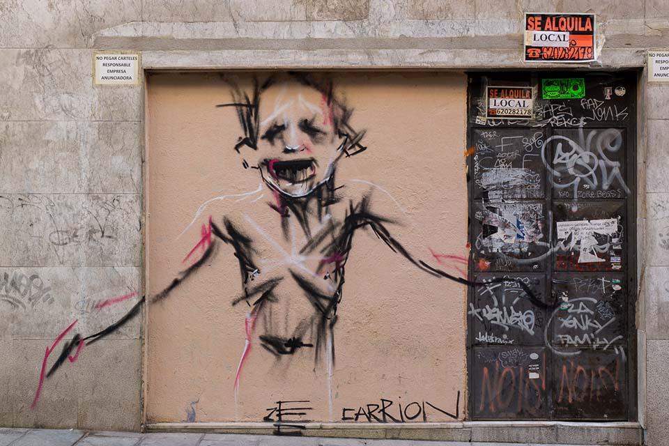Ze carrion, artista con controversia