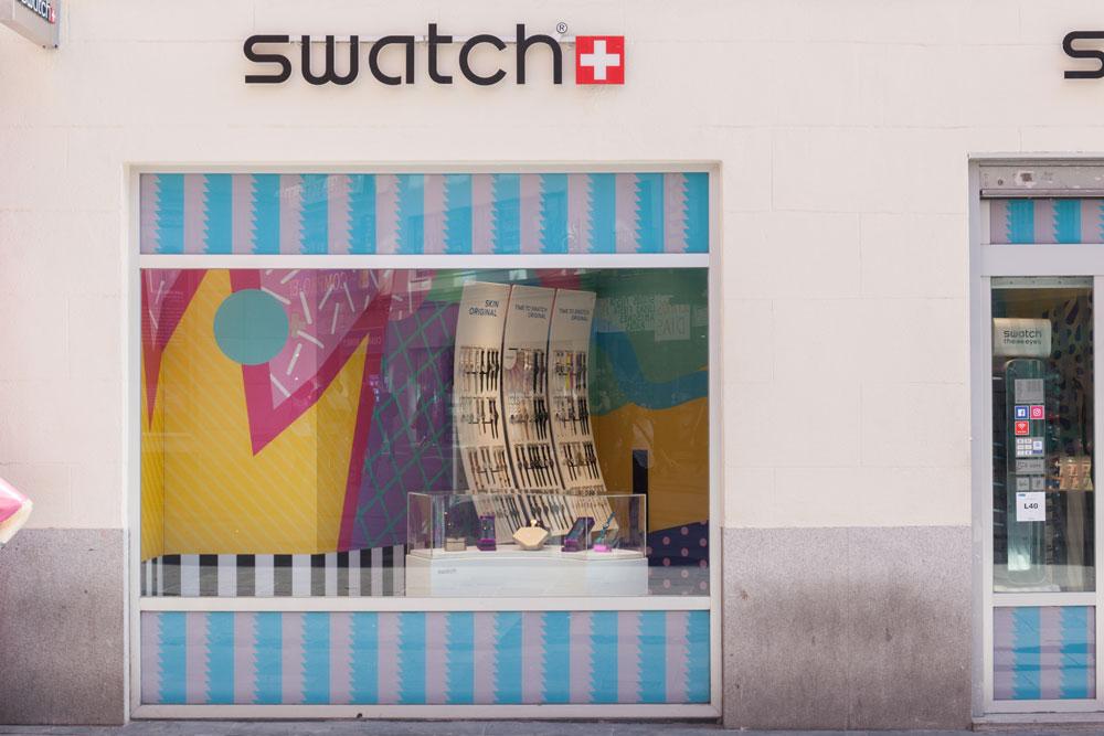 tienda swatch madrid