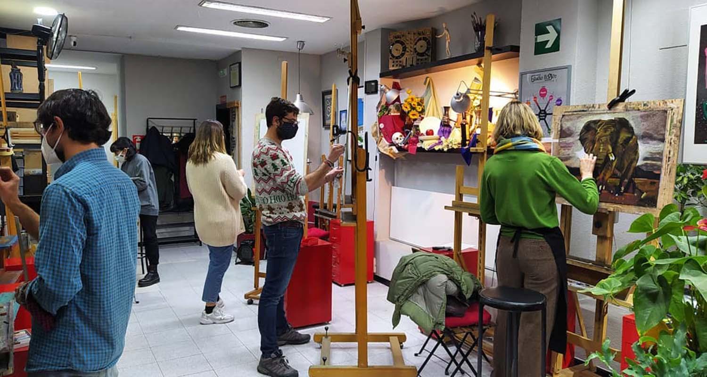 taller de arte en Madrid ciudad